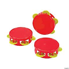 Christmas Mini Tambourines