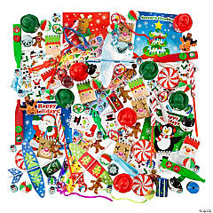 Christmas Novelty Toy Assortment - 1000 Pc.