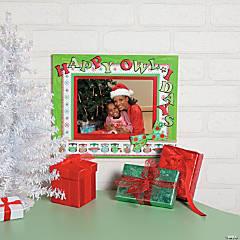 Christmas Owl Frame Idea