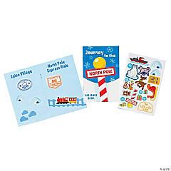 Christmas Passport Sticker Books