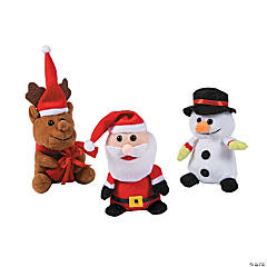 Christmas Plush Characters