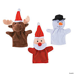 Christmas Plush Hand Puppets