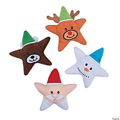 Christmas Plush Stars