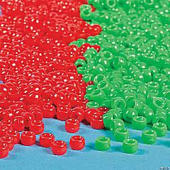 Christmas Pony Beads