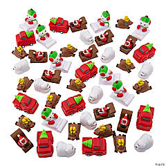 Christmas Pullback Racers Assortment