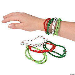 Christmas Rope Bracelets