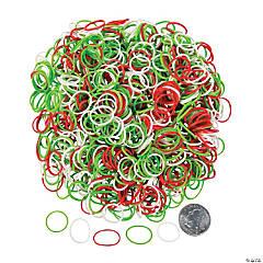 Christmas Rubber Fun Loop Assortment Kit