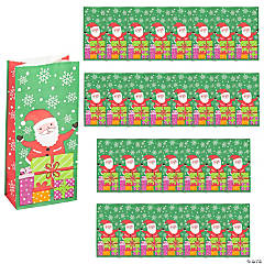 Christmas Santa Treat Bags