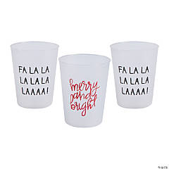 Christmas Sayings Cups