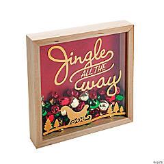 Christmas Shadow Box Craft Kit