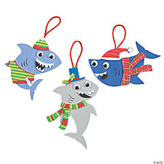 Christmas Shark Ornament Craft Kit