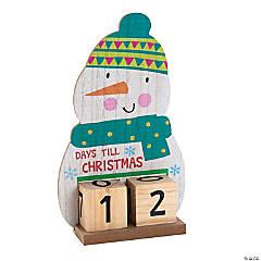 Christmas Snowman Advent Calendar