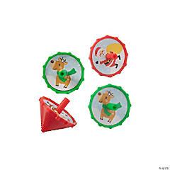 Christmas Spin Tops