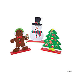 Christmas Stand-Up Activity Kits with Stickers