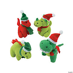 Christmas Stuffed Dinosaurs PDQ