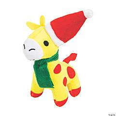 Christmas Stuffed Giraffes