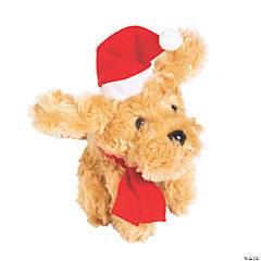 Christmas Stuffed Labradoodle