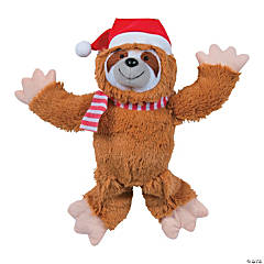 Christmas Stuffed Sloth