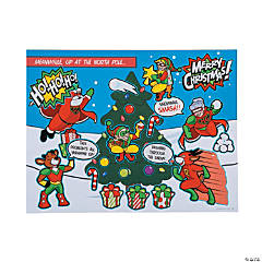 Christmas Superhero Sticker Scenes