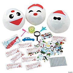 Christmas Surprise Balls with Toys
