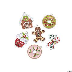 Christmas Sweet Treat Enamel Charms