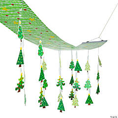 Christmas Tree Ceiling Decoration
