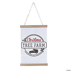 Christmas Tree Farm Canvas Sign