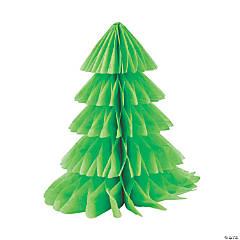 Christmas Tree Honeycomb Centerpieces
