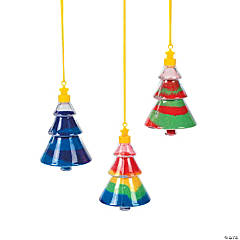 Christmas Tree Sand Art Necklaces