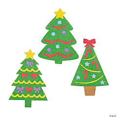 Christmas Tree Sand Art Pictures - 12 Pc.