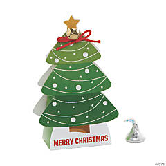 Christmas Tree with Bell Treat Boxes