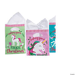 Christmas Unicorn Goody Bags