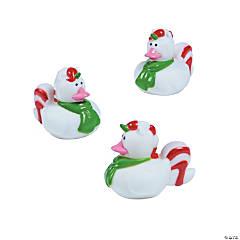 Christmas Unicorn Rubber Duckies