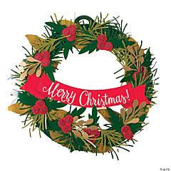 Christmas Wreath Craft Kit