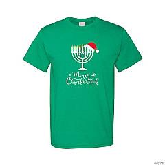 Christmukkah Adult's T-Shirt