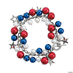 Chunky Patriotic Bracelet Craft Kit