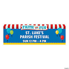 Church Carnival Custom Banner - Medium