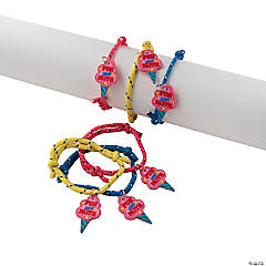 Church Carnival Friendship Rope Bracelets