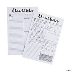 Church Notes Tear Away Pads