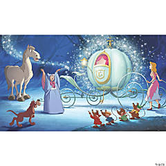Cinderella Carriage Prepasted Mural