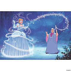 Cinderella Magic Prepasted Wallpaper Mural