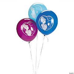 Cinderella Sparkle Latex Balloons