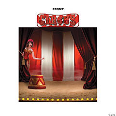 Circus Backdrop Stand-Up