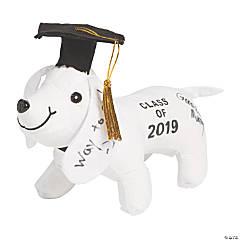 Class of 2019 Autograph Stuffed Dog