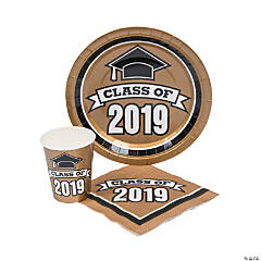 Class of 2019 Gold Tableware Set for 100
