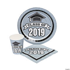 Class of 2019 Silver Tableware Set for 50