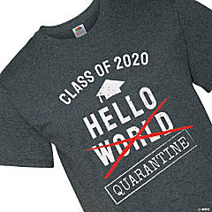 Class of 2020 Quarantine Adult's T-Shirt - Extra Large