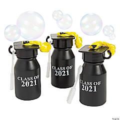Class of 2021 Graduation Bubble Bottles - 12 Pc.