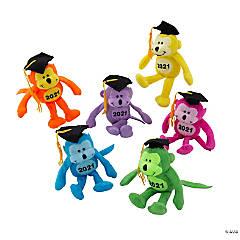 Class of 2021 Neon Stuffed Monkeys