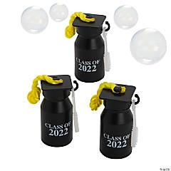 Class of 2022 Graduation Bubble Bottles - 12 Pc.